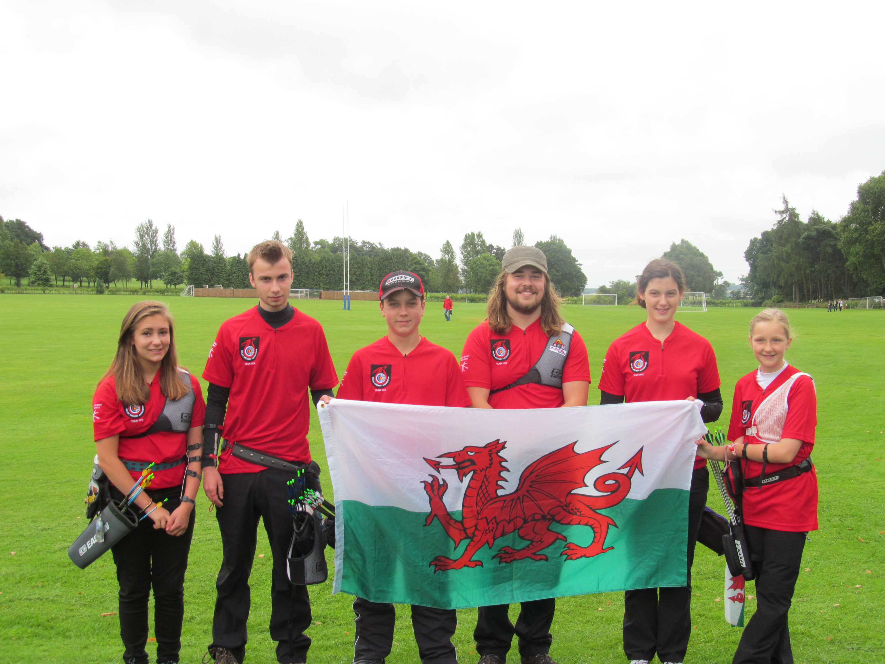 Welsh Team 2014