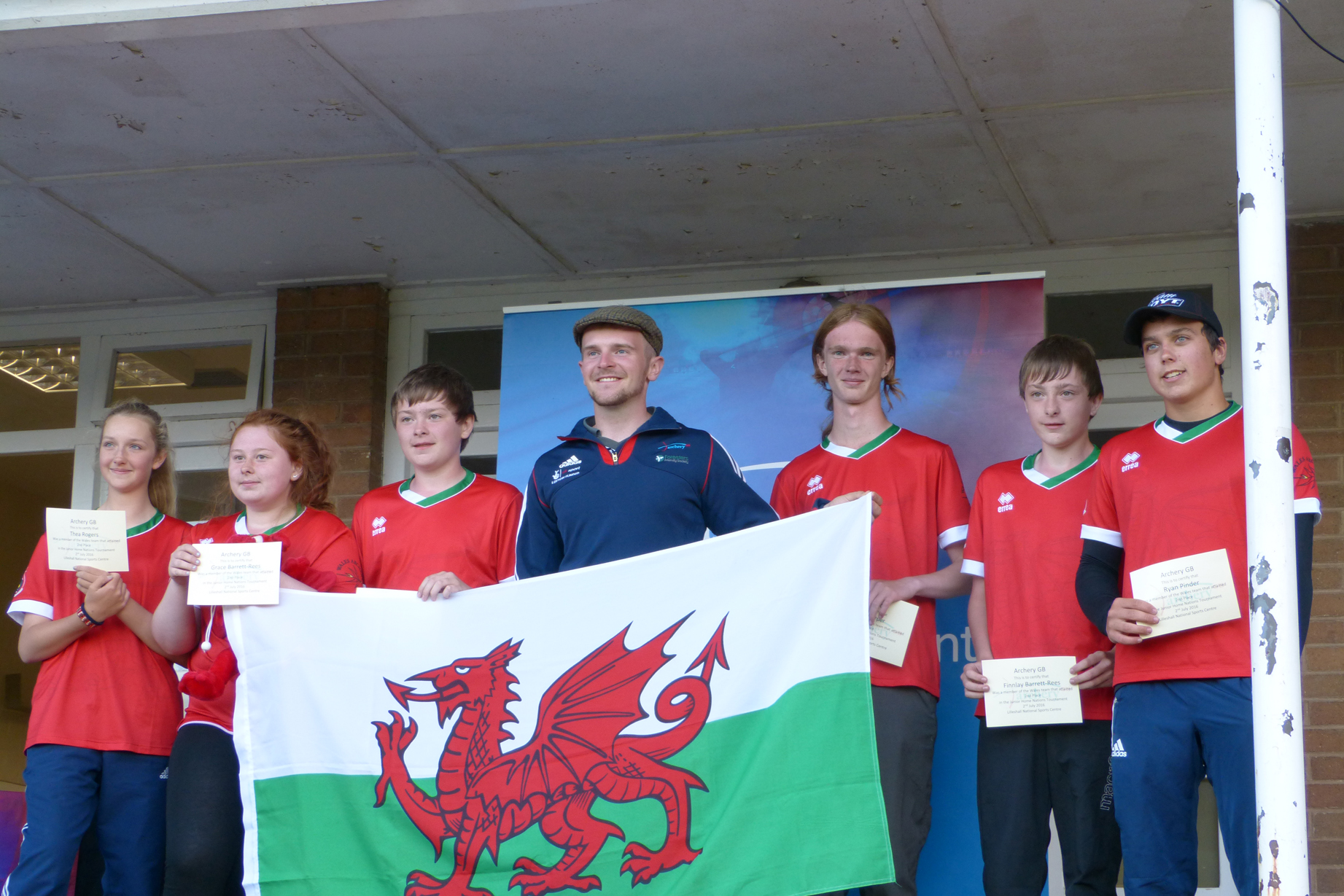 Welsh Junior Team 2016
